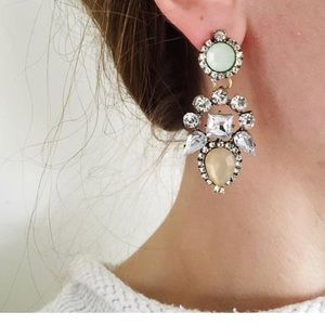 Jewelry - Mint and Blush Earrings